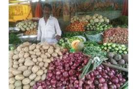 हरी सब्जियों पर तीन से चार गुना तक बढ़ी महंगाई
