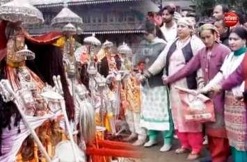 VIDEO:हिमाचल के रामपुर में फैग फेस्टिवल का आयोजन, पारंपरिक तरीकों से मनाया गया यह त्यौहार