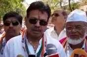 कांग्रेस प्रत्याशी का हेमा मालिनी और भाजपा पर निशाना, देखें वीडियो
