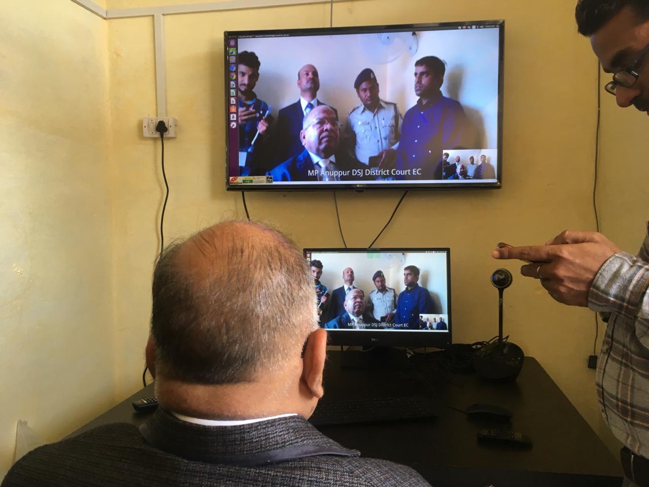 वीडियो कॉन्फ्रेंस तकनीक से होंगे कैदियों के फैसले, न्यायाधीश कर सकेंगे जेल में बंद आरोपियों से सीधा संवाद