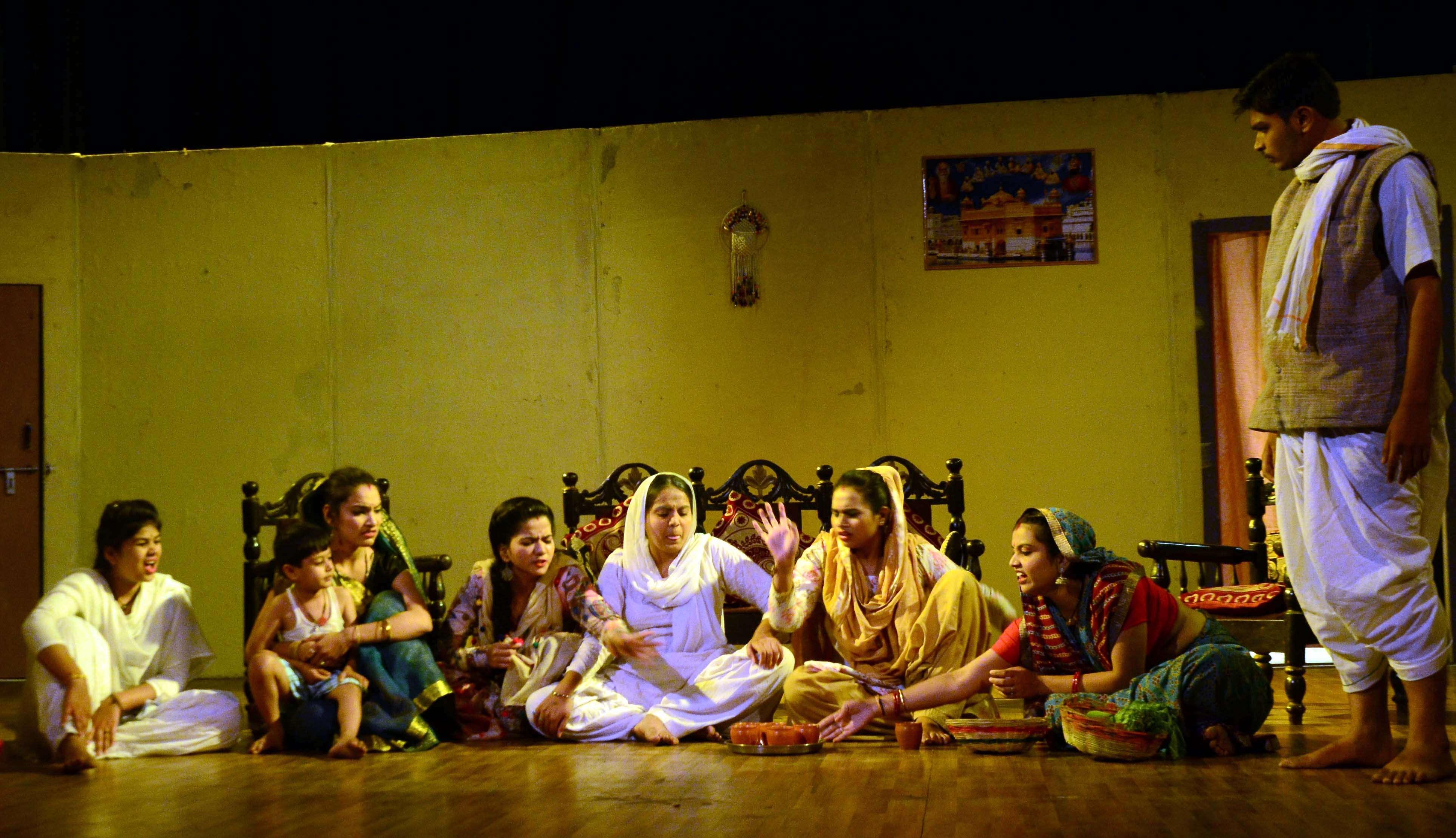 Drama in shaheed bhavan