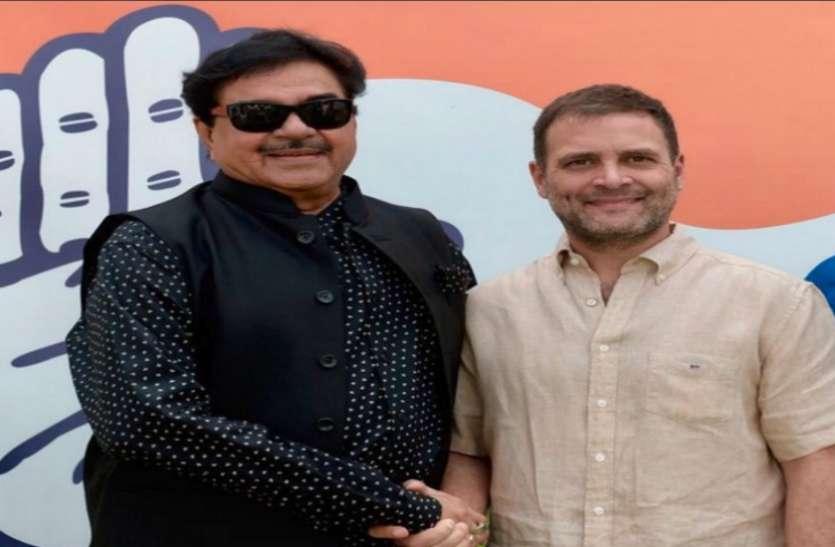 6 अप्रैल को कांग्रेस में शामिल होंगे भाजपा के 'शत्रु', शॉटगन ने कहा- सीट वही रहेगी पटना साहिब