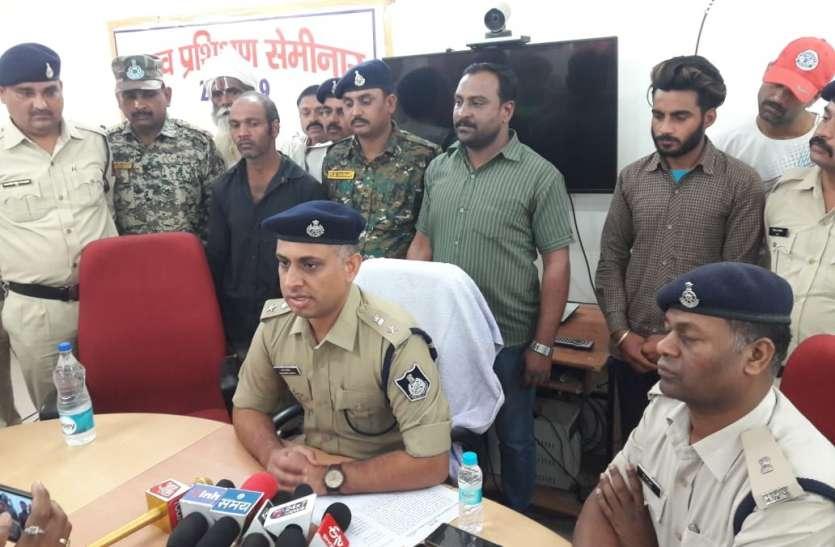 जयपुर से दबोचा श्योपुर में हत्या कर फरार हुआ आरोपी