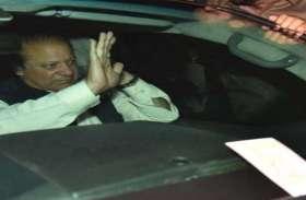 जेल से बाहर आए पाकिस्तान के पूर्व पीएम नवाज शरीफ, देखें तस्वीरें