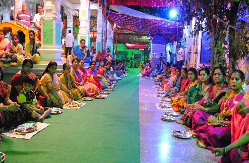 See Video : बालाजी मंदिर के ब्रह्मोत्सव के तीसरे दिन सुबह हुआ श्रीसुदर्शन होम