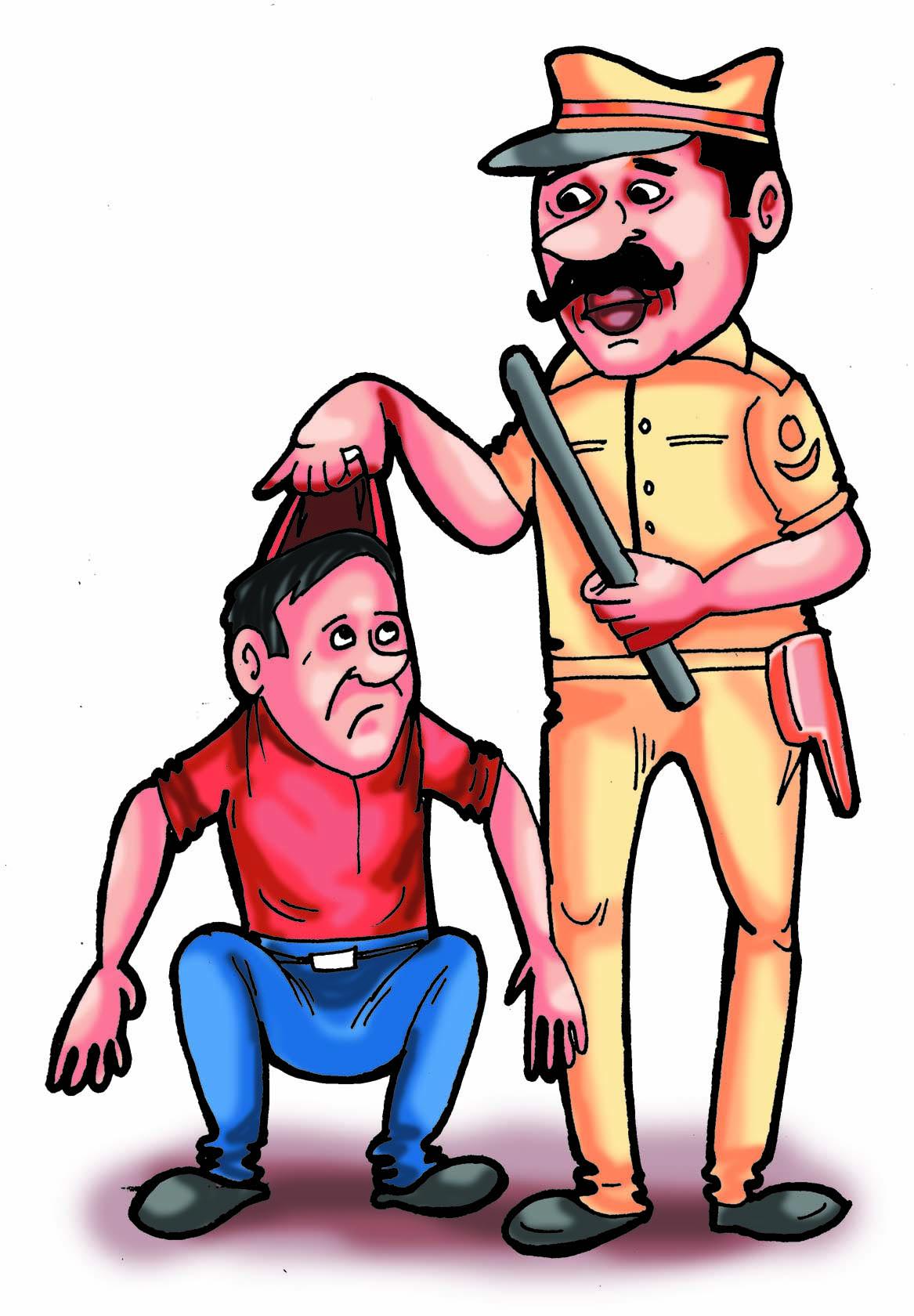 अंतरराज्यीय जुए के फड़ पर पुलिस का छापा, 5 जुआरी पकड़े