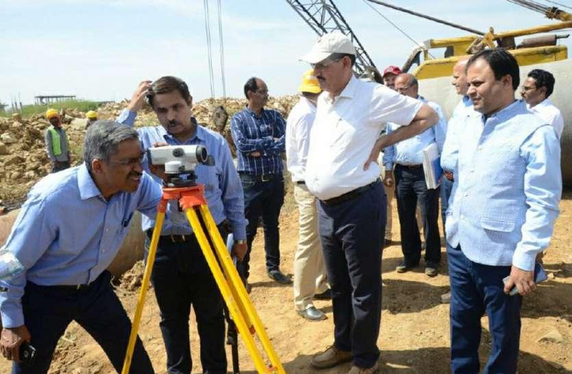 पीएस को निर्माण कार्यों की गुणवत्ता घटिया मिली थी, उपयंत्री निलंबित
