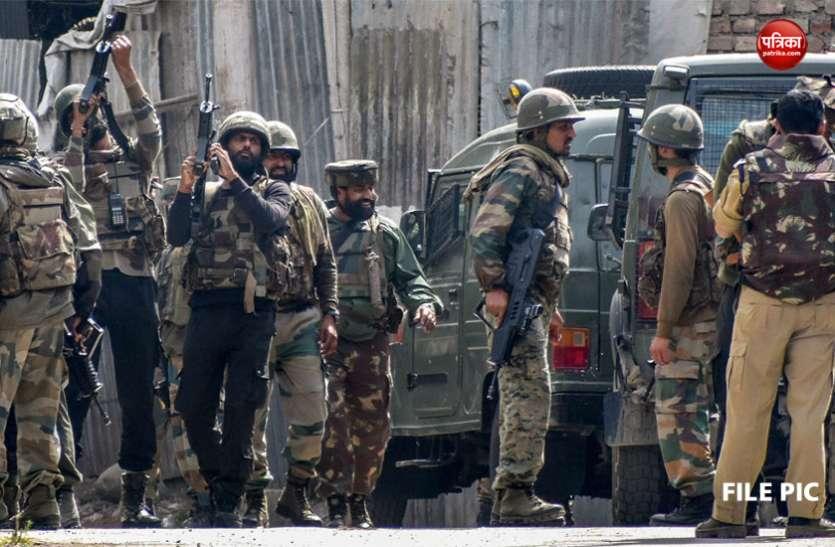 बडगाम में सुरक्षाबलों ने 2 आतंकियों को किया ढेर, सेना के 4 जवान घायल