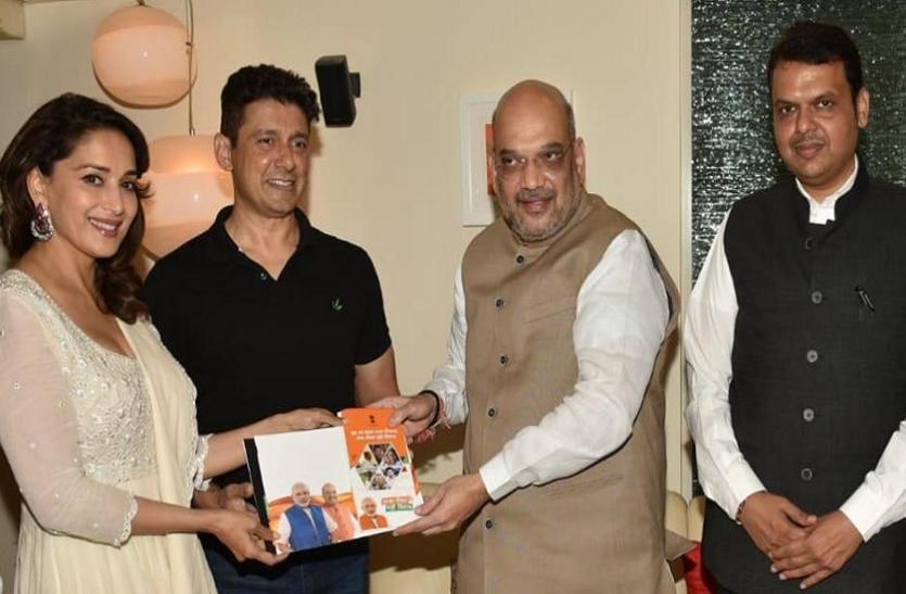 भाजपा के टिकट पर चुनाव लड़ेंगी माधुरी दीक्षित? पूछने पर अभिनेत्री ने दिया यह जवाब