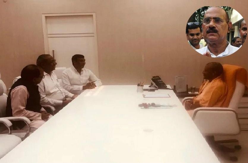 भाजपा भदोही से सहयोगी दल के राष्ट्रीय अध्यक्ष को लड़ा खोज रही मध्यमार्ग