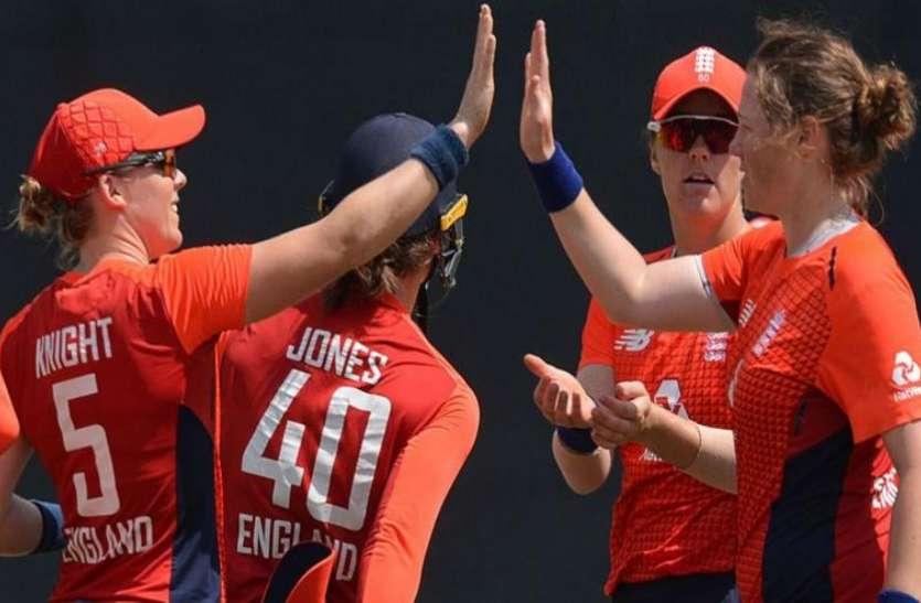 महिला क्रिकेटः इंग्लैंड ने टी-20 सीरीज़ में श्रीलंका का 3-0 से किया सफाया