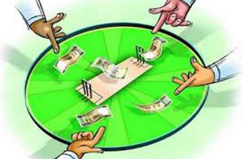 आइपीएल क्रिकेट मैच पर सट्टा लगवा रहे 4 सटोरिये दबोचे, 40 हजार रुपए और 7 मोबाइल मिले