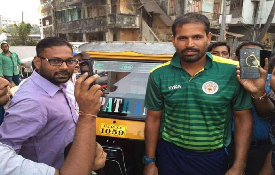 Javed Shah and Yusuf Pathan