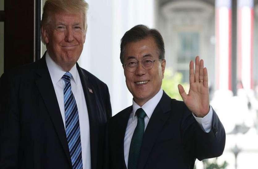परमाणु निरस्त्रीकरण पर उत्तर कोरिया के तेवर से परेशान दक्षिण कोरिया, ट्रंप से जल्द मुलाकात करेंगे मून जे-इन