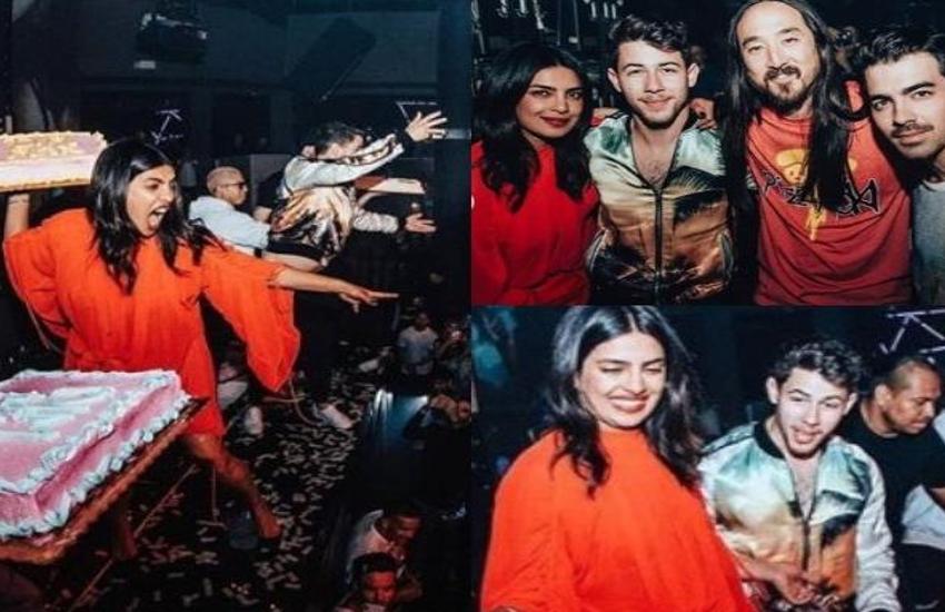 जश्न में डूबे प्रियंका चोपड़ा और निक ने फैंस के साथ की ऐसी हरकत, तस्वीरें हुई वायरल