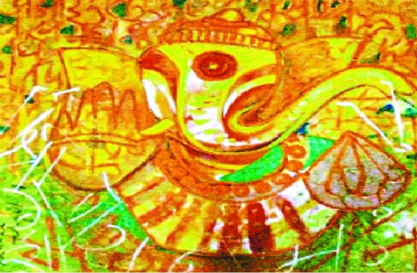 कैलिग्राफी से पेंटिंग्स को नया आयाम देकर बना रहे सशक्त