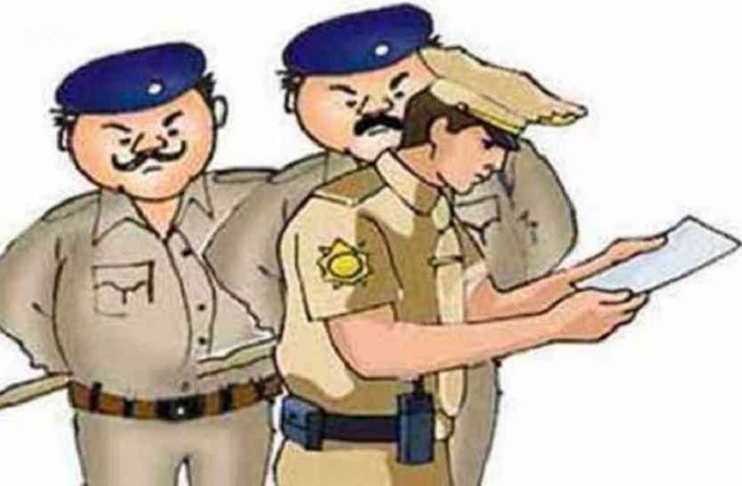 संदिग्धों की तलाश में पुलिस ने बैंकों का किया निरीक्षण