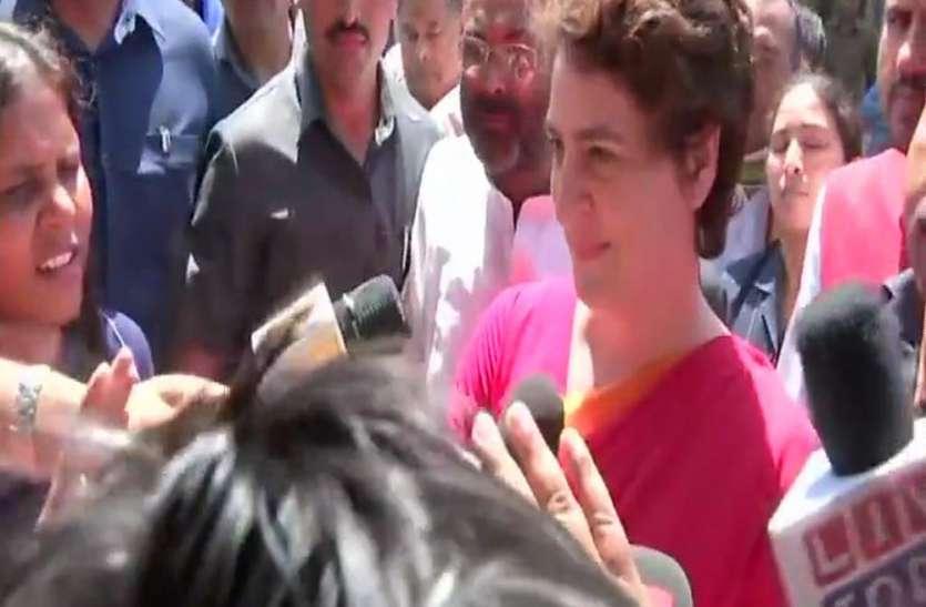 कांग्रेस से आई बड़ी खबर, प्रियंका गांधी ने यहां से चुनाव लड़ने की कही बात, मचा हड़कम्प