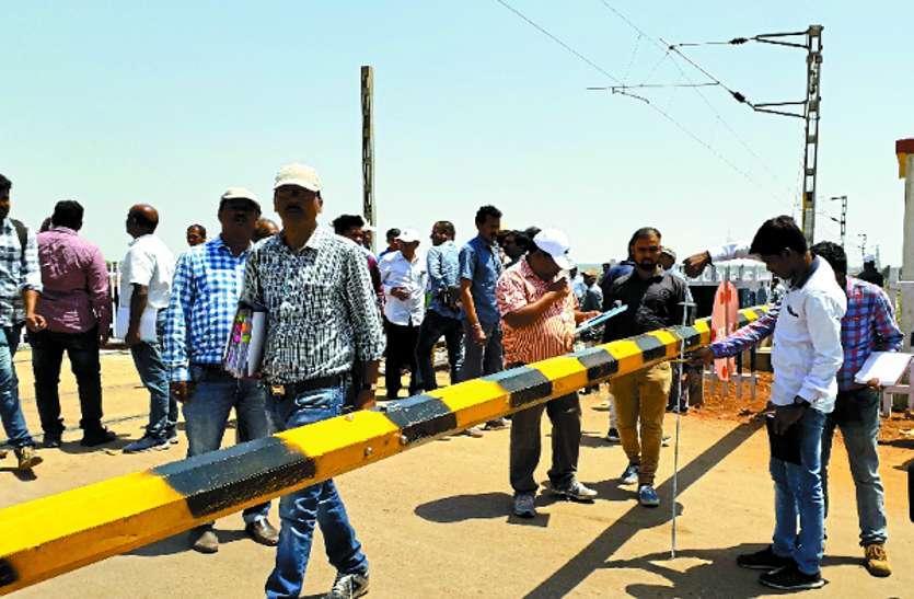 स्टेशनों का लिया जायजा, इलेक्ट्रिक लाइन पर 100 किमी की रफ्तार से चली सूरत-पुरी सुपरफास्ट