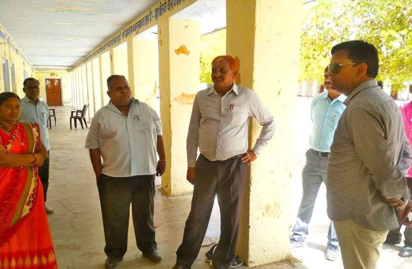 निर्वाचन अधिकारी ने मतदान केन्द्रों का निरीक्षण कर कमियों को पूर्ण करने के दिए निर्देश