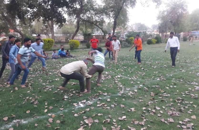 कबड्डी प्रतियोगिता के साथ गौतम जयंती सप्ताह का आगाज