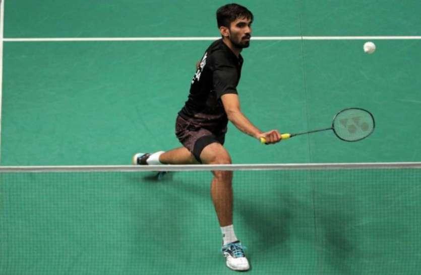 अगले दो टूर्नामेंट्स में नहीं खेलेंगे किदाम्बी श्रीकांत