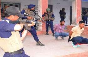 श्रीगंगानगर @ क्यूआरटी के कमांडों ने किया डेमो..........देखें खास तस्वीरें