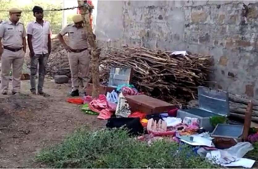 VIDEO : सोते रहे मकान मालिक, चोरो ने कमरों के लगा दी कुण्डी फिर किया लाखो का माल पार