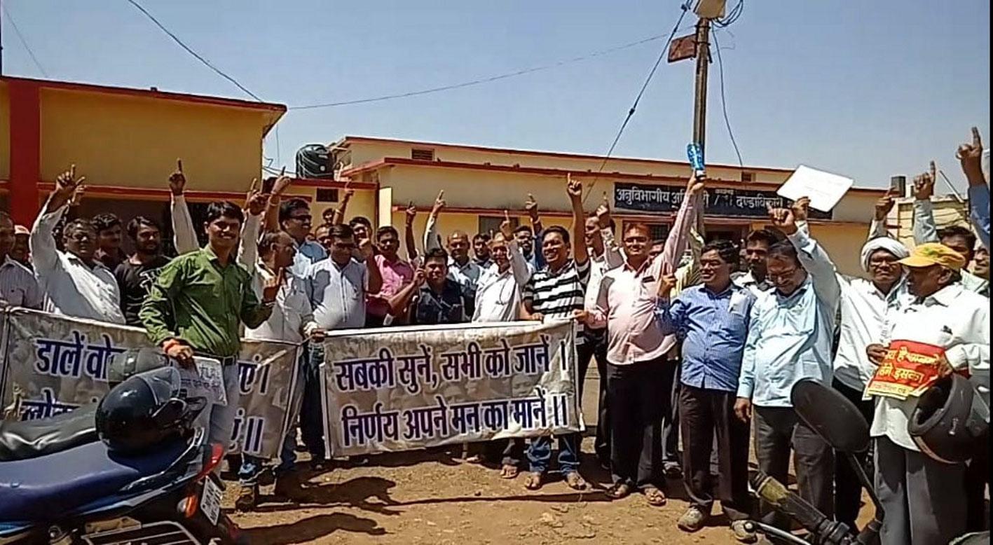 मतदाता जागरूकता अभियान में निकाली वाहन रैली