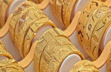 लगातार 2 दिन की तेजी के बाद सस्ता हुआ सोना, 20 रुपए प्रति किलो चमकी चांदी