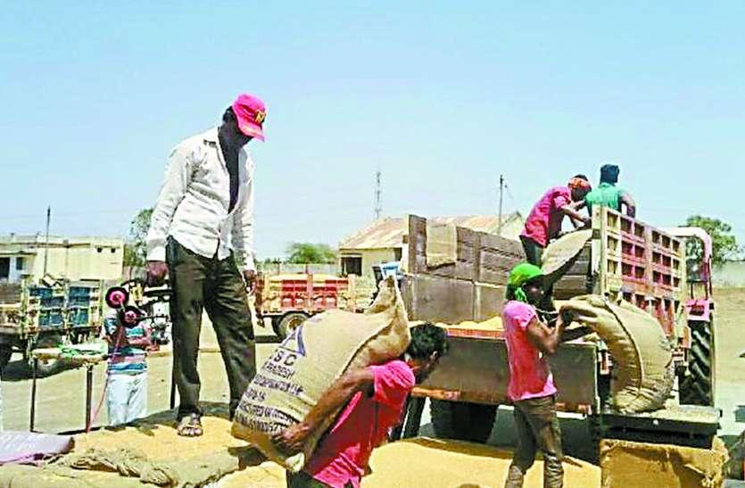 समर्थन मूल्य को किसानों का नहीं मिल रहा समर्थन