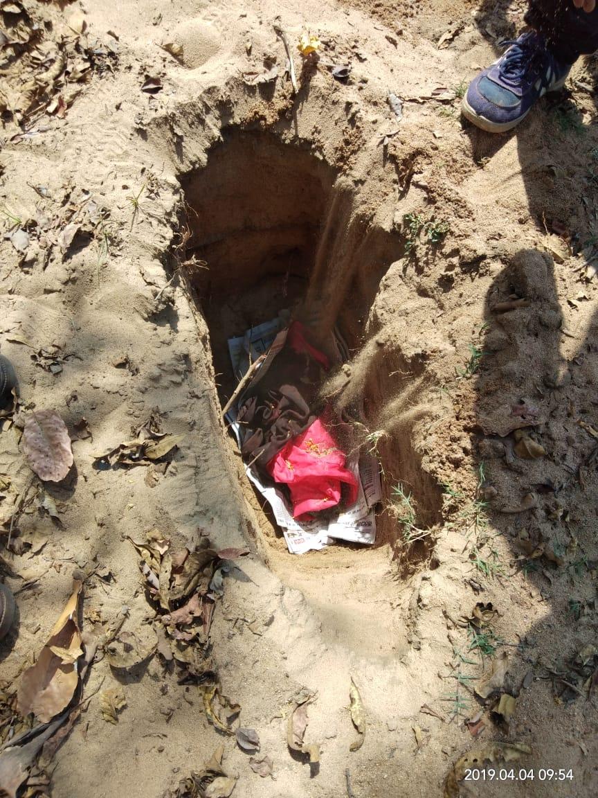 8 माह कोख में पाला नन्हीं जान,  जन्म होते ही लोक लाज में फेंका कचरा की ढेर हुई मौत