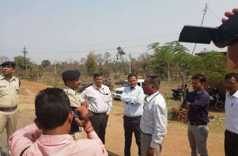 अंतरराज्यीय नाकों, मतदान केन्द्रों का अधिकारियों ने लिया जायजा