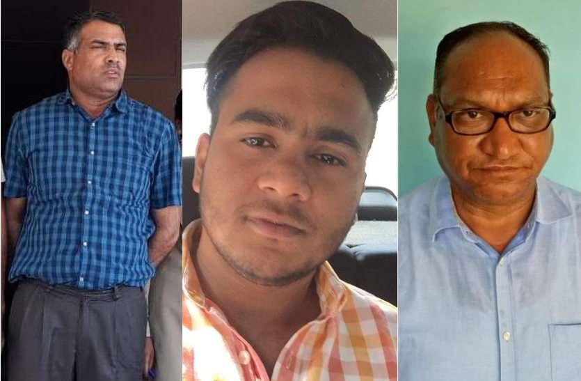 नारकोटिक्स विभाग के तीन अधिकारी और दो तस्कर गिरफ्तार, लाखों की नकदी और मादक पदार्थ बरामद