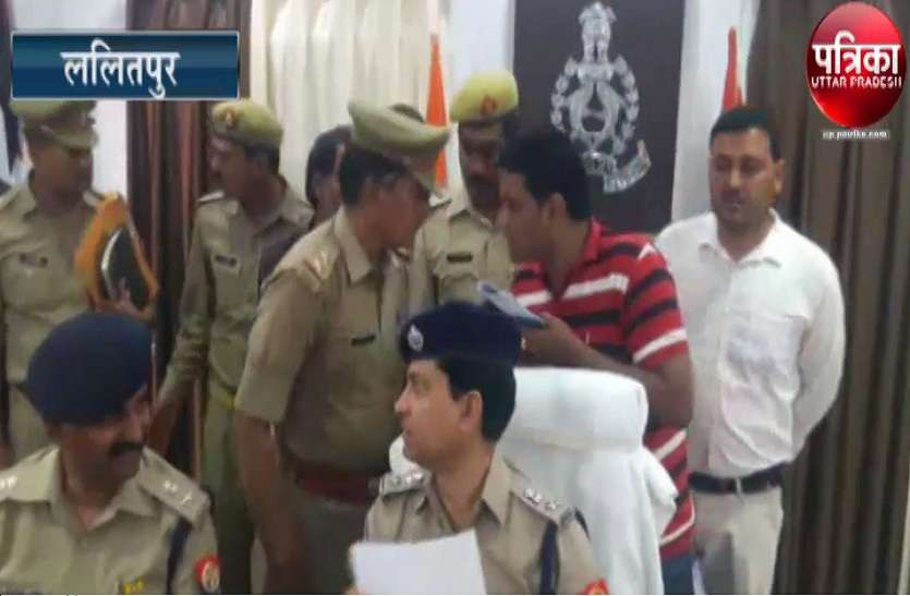 पुलिस ने सर्च अभियान में इनामी युवक किया गिरफ्तार, देेखें वीडियो