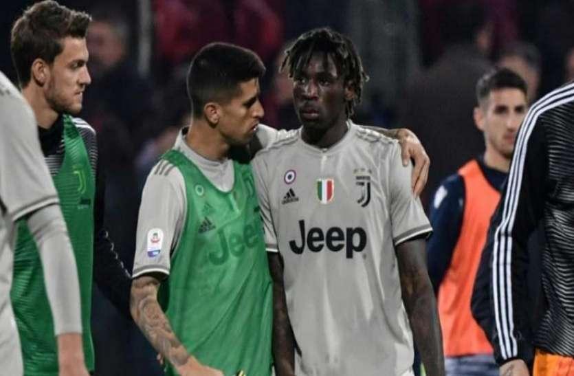 इटली लीग में गिरी खेल की गरिमा, दर्शकों ने मोइस के खिलाफ जमकर की नस्लीय टिप्पणी