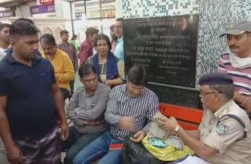 बिहार का पैडलर, एमपी से हरियाणा ले जा रहा था नोटों की गड्डियां