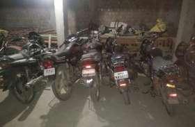 पुलिस ने बाइक चोर दबोचा, छह बाइक जब्त