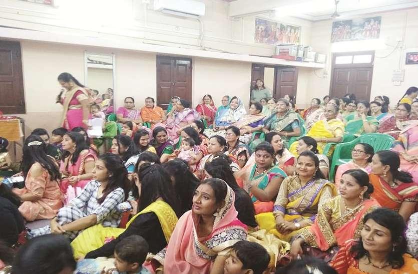 युवतियों ने किया पारंपरिक नृत्य, धूमधाम से मनाया गणगौर उत्सव
