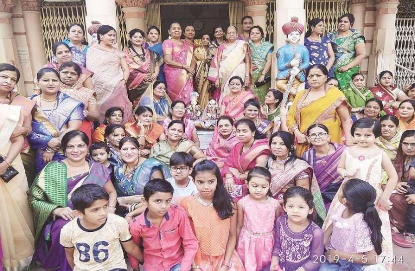 शिव-पार्वती की शोभा यात्रा भी निकाली गई, लोकगीत की धूम