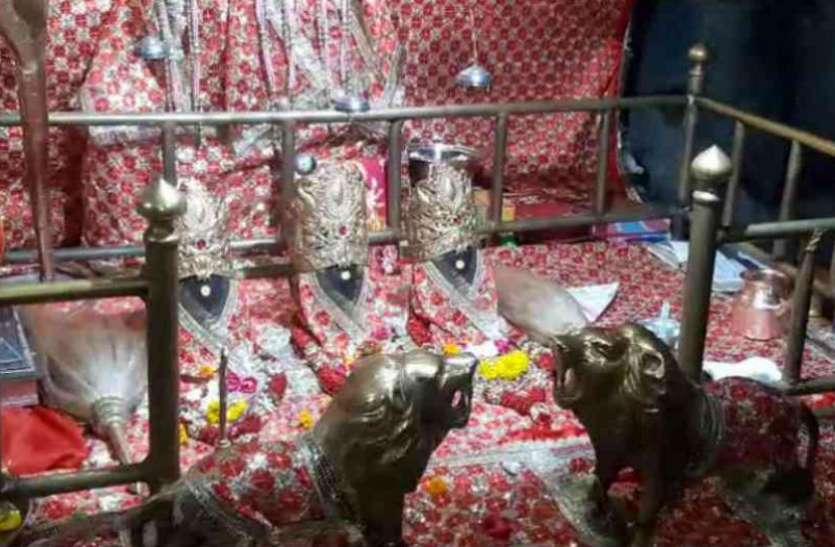 चैत्र नवरात्र: वैष्णों देवी मंदिर में उमड़ी श्रद्धालुओं की भीड़, जय माता के जयकारों से गूंजी राहें, देखें वीडियो