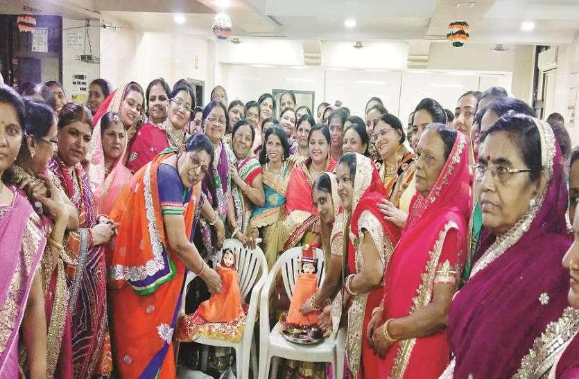कल्याण में राजस्थानी महिलाओं ने मनाया गणगौर उत्सव