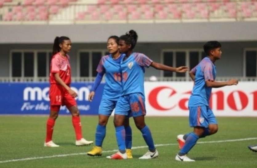 महिला फुटबॉल : ओलम्पिक क्वालीफायर-2 में भारत ने नेपाल को 3-1 से हराया, लगातार दूसरी जीत