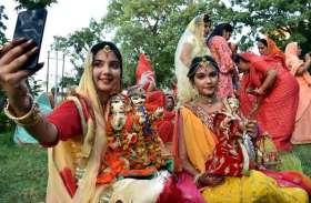 Photo Gallery : राजस्थानी लोकगीतों पर नाची सुहागिनें