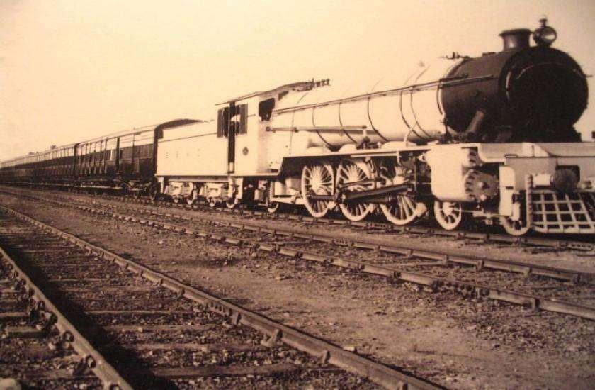 Railway in British raj