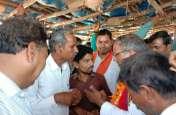 गांव बनी में जनसंपर्क करने पहुंचे सांसद गुप्ता को झेलना पड़ा विरोध