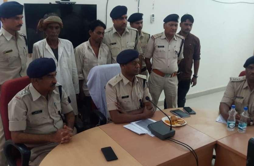 राजस्थान से दबोचे हत्या कर भागे आरोपी पिता-पुत्र,पहचान छिपा कर रहे थे मजदूरी