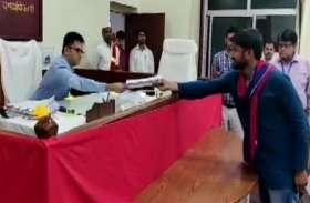 कन्हैया कुमार ने बेगूसराय सीट से भरा नामांकन, समर्थन में आने वालों को दिया धन्यवाद