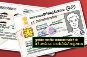 ड्राइविंग लाइसेंस बनवाना चाहते हैं तो ऐसे करें आवेदन, दलाली से मिलेगा छुटकारा