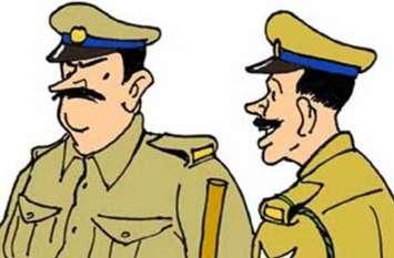 पुलिस ही नहीं कर रही पुलिस की मदद, तीन माह तक दर्ज नहीं की रिपोर्ट
